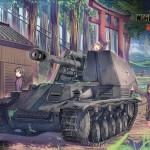 オンラインゲーム World of Tanks様 寄稿イラスト
